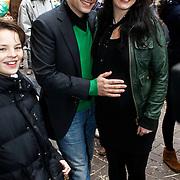NLD/Amsterdam/20100314 - Premiere Nanny McPhee 2, Edgar Wurfbain en zwangere partner