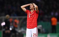 FUSSBALL  DFB POKAL FINALE  SAISON 2018/2019 IN BERLIN RB Leipzig - FC Bayern Muenchen         25.05.2019 Thomas Mueller (FC Bayern Muenchen) nachdenklich