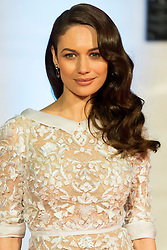© Licensed to London News Pictures. 14/02/2016. London, UK. OLGA KURYLENKO arrives on the red carpet for the EE British Academy Film Awards 2016 after party held at Grosvenor House . London, UK. Photo credit: Ray Tang/LNPPhoto credit: Ray Tang/LNP