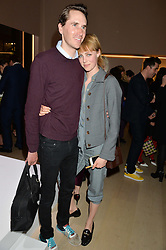 OTIS FERRY and EDIE CAMPBELL at Fashions for The Future presented by Oceana's Junior Council held at Phillips Auction House, 30 Berkeley Square, London on 19th March 2015.