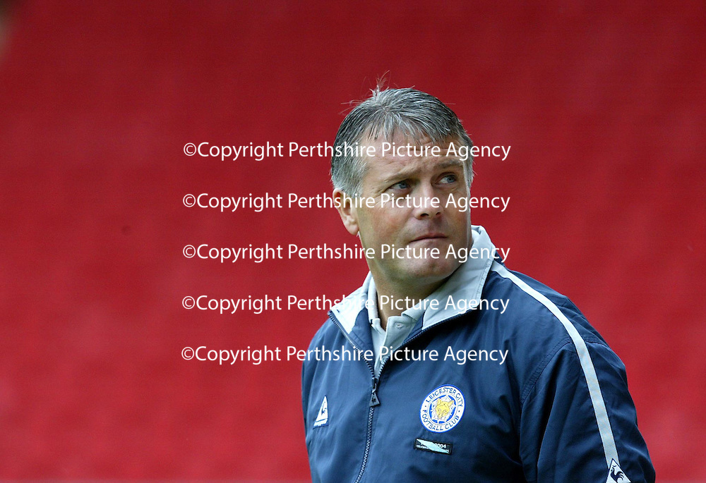 St Johnstone v Leicester City..24.07.04 (Friendly) <br />Leicester boss Micky Adams<br /><br />Picture by Graeme Hart.<br />Copyright Perthshire Picture Agency<br />Tel: 01738 623350  Mobile: 07990 594431