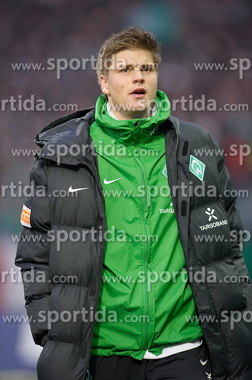21.02.2010, Weser Stadion, Bremen, GER, 1.FBL, Werder Bremen vs Bayer Leverkusen, im Bild Sebastian Prödl / Proedl( Werder  #15)   EXPA Pictures © 2010, PhotoCredit: EXPA/ nordphoto/ Kokenge / for Slovenia SPORTIDA PHOTO AGENCY.