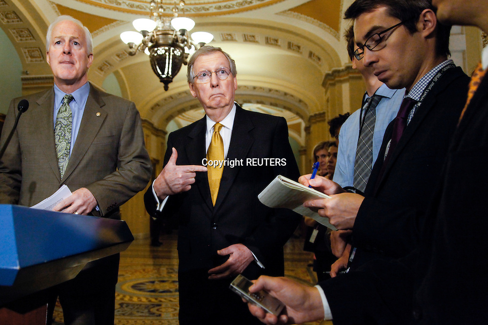 at the U.S. Capitol in Washington, June 11, 2013. REUTERS/Jonathan Ernst    (UNITED STATES)
