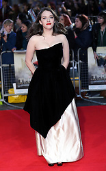 Kat Dennings arriving for the premiere of Thor: The Dark World, in London, Tuesday, 22nd October 2013. Picture by Stephen Lock / i-Images