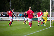 Dundee&rsquo;s Craig Wighton scores the opening goal - Brechin City v Dundee pre-season friendly at Glebe Park, Brechin, Photo: David Young<br /> <br />  - &copy; David Young - www.davidyoungphoto.co.uk - email: davidyoungphoto@gmail.com