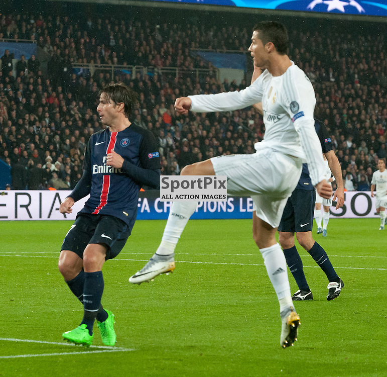 Cristiano Ronaldo (Real Madrid) comes the closest to scoring