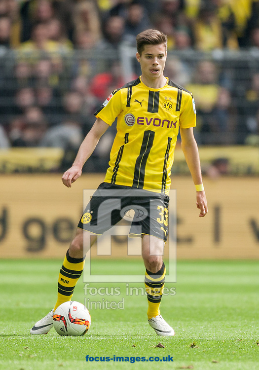 Julian Weigl of Borussia Dortmund during the Bundesliga match at Signal Iduna Park, Dortmund<br /> Picture by EXPA Pictures/Focus Images Ltd 07814482222<br /> 14/05/2016<br /> ***UK &amp; IRELAND ONLY***<br /> EXPA-EIB-160515-0074.jpg