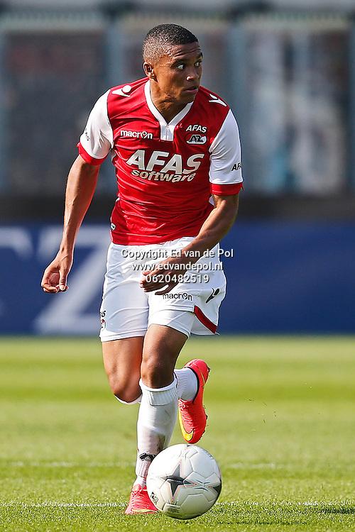 ALKMAAR - 04-09-2014 - AZ - KV Mechelen, oefenduel, AFAS Stadion,