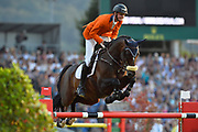 Frank SCHUTTERT (NED) riding Chianti's Champion during the Nations Cup of the World Equestrian Festival, CHIO of Aachen 2018, on July 13th to 22th, 2018 at Aachen - Aix la Chapelle, Germany - Photo Christophe Bricot / ProSportsImages / DPPI