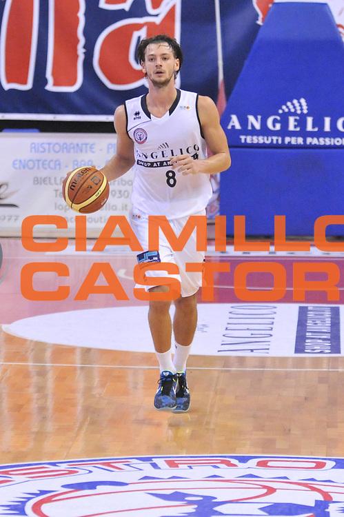 DESCRIZIONE : Biella LNP DNA Adecco Gold 2013-14 Angelico Biella Expert Napoli<br /> GIOCATORE : Tommaso Raspino<br /> CATEGORIA : Palleggio<br /> SQUADRA : Angelico Biella<br /> EVENTO : Campionato LNP DNA Adecco Gold 2013-14<br /> GARA : Angelico Biella Expert Napoli<br /> DATA : 27/10/2013<br /> SPORT : Pallacanestro<br /> AUTORE : Agenzia Ciamillo-Castoria/Max.Ceretti<br /> Galleria : LNP DNA Adecco Gold 2013-2014<br /> Fotonotizia : Biella LNP DNA Adecco Gold 2013-14 Angelico Biella Expert Napoli<br /> Predefinita :