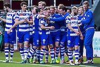 ALKMAAR - 01-05-2016, AZ - de Graafschap, AFAS Stadion, 4-1, De Graafschap speler Mark Diemers heeft de 0-1 gescoord.