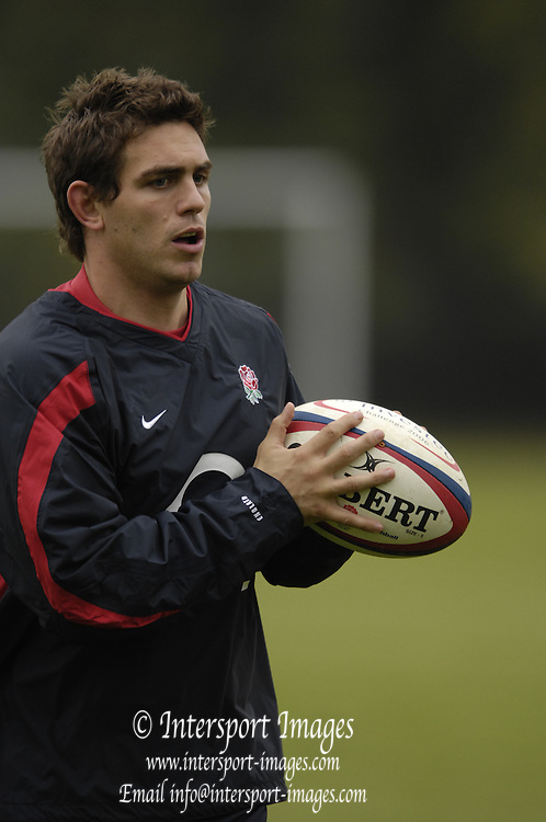 Marlow. GREAT BRITAIN, Ben JOHNStON, England Rugby Training, Bisham Abbey, Marlow,  ENGLAND Tue. 07/11/2006, England. Photo, Peter Spurrier/Intersport-images]