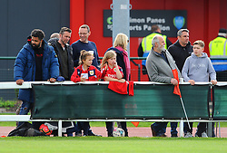 Bristol City Women fans  - Mandatory by-line: Nizaam Jones/JMP - 28/04/2019 - FOOTBALL - Stoke Gifford Stadium - Bristol, England - Bristol City Women v West Ham United Women - FA Women's Super League 1