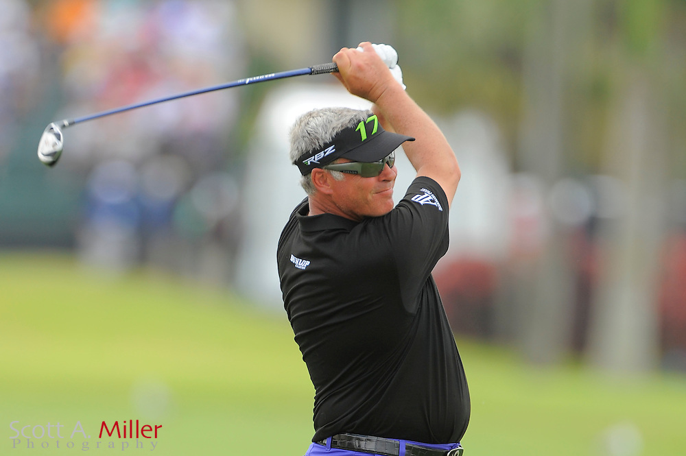 Darren Clarke during the second round of the World Golf Championship Cadillac Championship on the TPC Blue Monster Course at Doral Golf Resort And Spa on March 9, 2012 in Doral, Fla. ..©2012 Scott A. Miller.