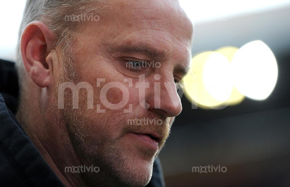 1. Fussball Bundesliga  Saison  2010/2011   21. Spieltag  05.02.2011 1 FSV Mainz 05 - SV Werder Bremen Trainer Thomas Schaaf (SV Werder Bremen)