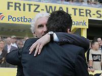 Fotball<br /> Privatlandskamp<br /> 06.06.2004<br /> Tyskland v Ungarn<br /> Foto: Witters/Digitalsport<br /> NORWAY ONLY<br /> <br /> v.l. Rudi Völler - Lothar Matthäus