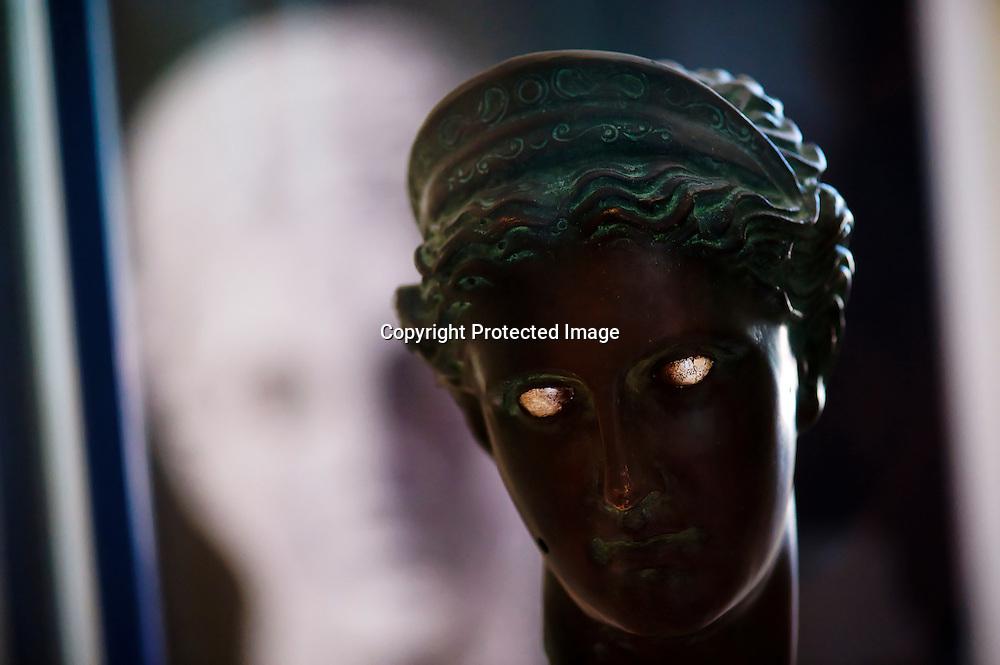 Statue Grec dans le musée de l'ile