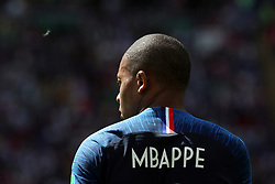 June 16, 2018 - Kazan, Kazan, Russia - Kylian Mbappe of France, during the 2018 FIFA World Cup Russia group C match between France and Australia at Kazan Arena on June 16, 2018 in Kazan, Russia. (Credit Image: © Mehdi Taamallah/NurPhoto via ZUMA Press)