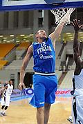 ATENE 24 AGOSTO 2011<br /> BASKET TORNEO ACROPOLIS<br /> ITALIA BYU<br /> NELLA FOTO CUSIN<br /> FOTO CIAMILLO