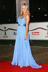 © Licensed to London News Pictures. 11/12/2013, UK. <br /> <br /> Kimberley Garner, attends A Night Of Heroes: The Sun Military Awards, National Maritime Museum, London UK, 11 December 2013. Photo credit : Richard Goldschmidt/Piqtured/LNP