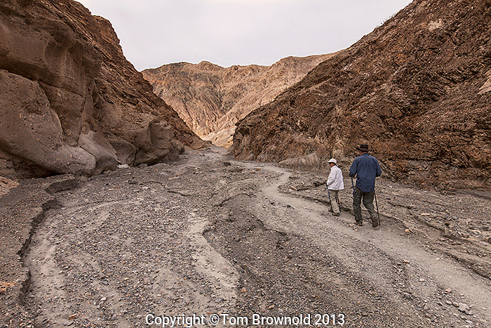 Mosaic Canyon in Tucki Mountain a part of the Panamint Mountains.