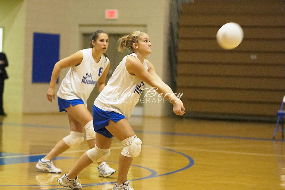 MCHS Varsity Volleyball..vs Manassas Park..October 7, 2004