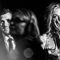 Sandra and Scott's emotional moment during speech time at Amapas, Puerto Vallarta. Photo by: Juan Carlos Calderón