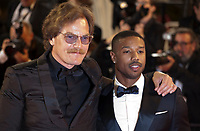 Actors Michael Shannon and Michael B. Jordan at the Farenheit 451 gala screening at the 71st Cannes Film Festival, Saturday 12th May 2018, Cannes, France. Photo credit: Doreen Kennedy
