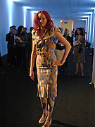 Lily Cole, Lancome Colour Design Awards, Ex-Saatchi gallery, 17 November 2004. ONE TIME USE ONLY - DO NOT ARCHIVE  © Copyright Photograph by Dafydd Jones 66 Stockwell Park Rd. London SW9 0DA Tel 020 7733 0108 www.dafjones.com