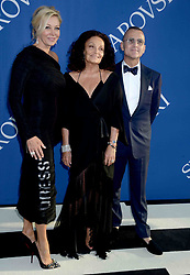 Nadja Swarovski, Diane von Furstenberg, and Steven Kolb at the 2018 CFDA Awards at the Brooklyn Museum in New York City, NY, USA on June 4, 2018. Photo by Dennis Van Tine/ABACAPRESS.COM