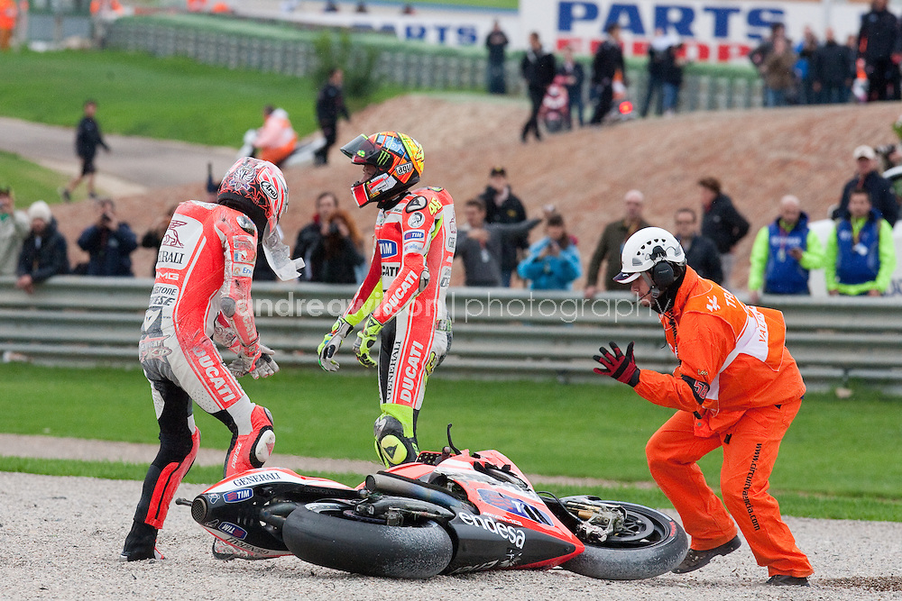 Valencia - Round 18 - MotoGP - GP Generali de la Comunitat Valenciana - Valencia  - August 26-28 2011:: Contact me for download access if you do not have a subscription with andrea wilson photography. ::  ..:: For anything other than editorial usage, releases are the responsibility of the end user and documentation will be required prior to file delivery ::..