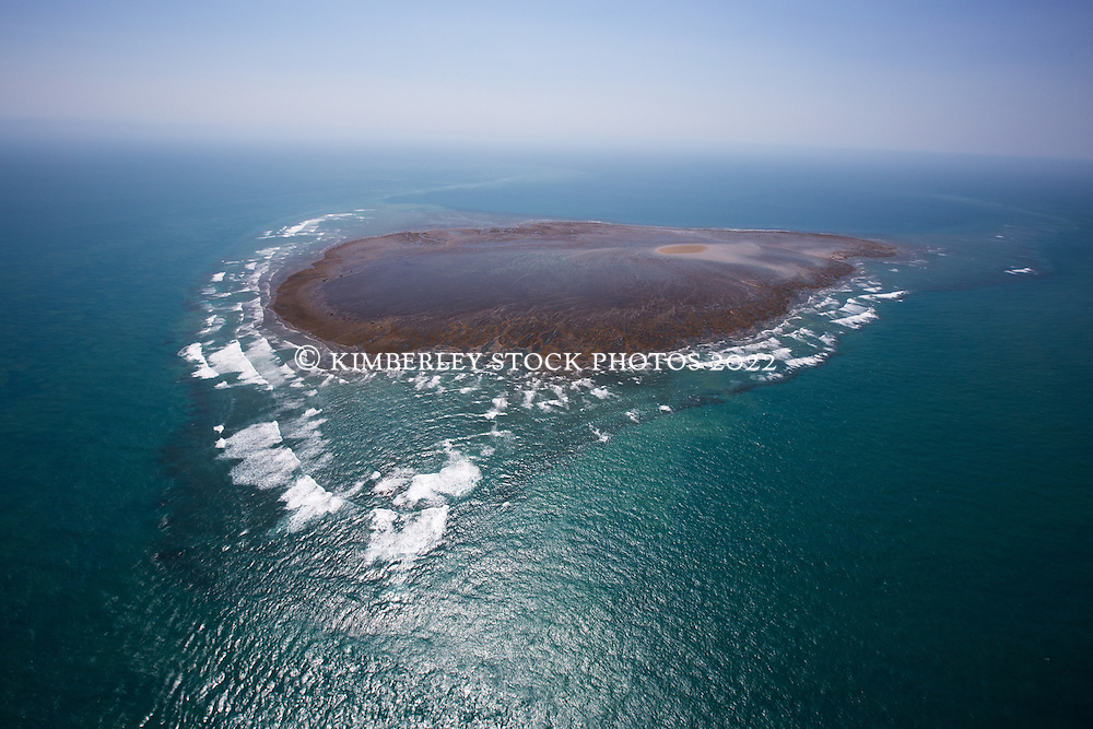Brue Reef, approximately 20 nautical miles north of Cape Leveque on the edge of the Buccaneer Archipelago.