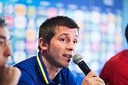 KRAKOW, POLEN - 2017-06-29:  Albert Celades under Spaniens U21 landslags tr&auml;ning den 29 juni p&aring; Krakow Stadium i Krakow, Polen.<br /> Foto: Nils Petter Nilsson/Ombrello<br /> ENDAST REDAKTIONELL ANV&Auml;NDNING. ***BETALBILD***