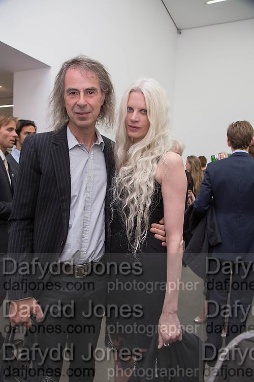 IVOR BRAKA; KRISTEN MCMENAMY, Fashion Show: Robert Mapplethorpe. Alison Jacques Gallery. Berners St. London. 10 September 2013