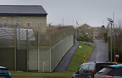 © Licensed to London News Pictures. 21/12/2016. Erlestoke, UK. HMP Erlestoke - the prison where Sgt Alexander Blackman is currently serving a life sentence after being convicted of murdering a wounded Taliban fighter in Afghanistan in 2011. Family and supporters are currently at the High Court in London in a bid to get bail granted ahead of an appeal.   London Photo credit: Peter Macdiarmid/LNP