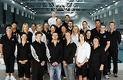 The New Zealand Swim team at the 2006 New Zealand Youth and Open Swimming Championships at QEII Leisure Centre, Christchurch on Friday 14 April 2006. Photo: Simon Fergusson/PHOTOSPORT