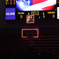 Men's Basketball: University of Wisconsin-River Falls Falcons vs. University of Wisconsin-Stevens Point Pointers