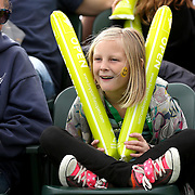 March 1, 2014, Palm Springs, California: <br /> A girl cheers during Kids Day at the Indian Wells Tennis Garden sponsored by the Coachella Valley National Junior Tennis and Learning Network.<br /> (Photo by Billie Weiss/BNP Paribas Open)