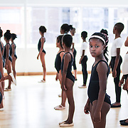 Children are offered Ballet lessons in the deprived neighborhood of Hillbrow in johannesburg. © Miora Rajaonary