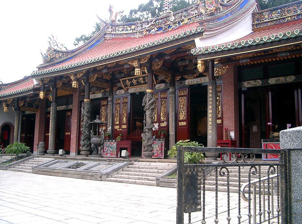 Buddhist temple China