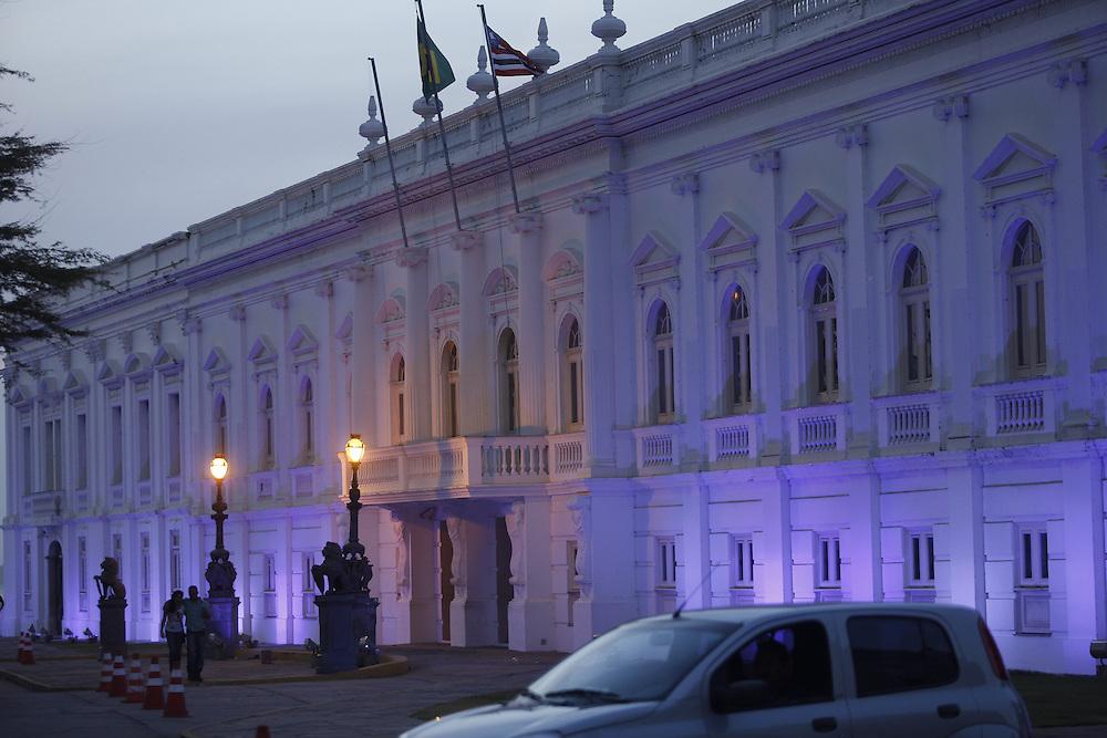 Sao Luis_MA, Brasil.<br /> <br /> Palacio dos Leoes, sede do Governo do Estado em Sao Luis, Maranhao.<br /> <br /> Palacio dos Leoes, acts as the seat of the state government in Sao Luis, Maranhao.<br /> <br /> Foto: LEO DRUMOND / NITRO