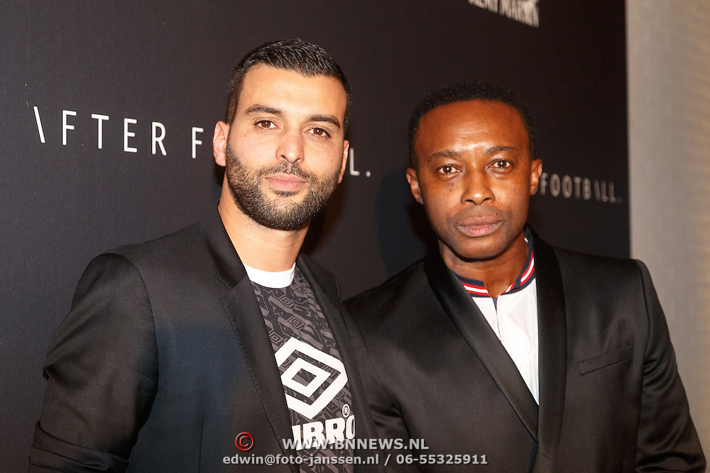NLD/Amsterdam/20151110 - Life After Football Award 2015, Soufian Asafiati en .................