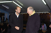 Erik Fellner and Lord Rothschild. Launch of the Somerset House Christmas Ice Rink. Hosted by Sir Timothy Sainsbury and H.E. Bruno Spinner Amabassador of Switzerland. © Copyright Photograph by Dafydd Jones 66 Stockwell Park Rd. London SW9 0DA Tel 020 7733 0108 www.dafjones.com