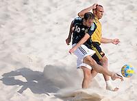 FIFA BEACH SOCCER WORLD CUP 2008 ARGENTINA - SPAIN  24.07.2008 Federico HILAIRE (ARG, l) against NICO (ESP).