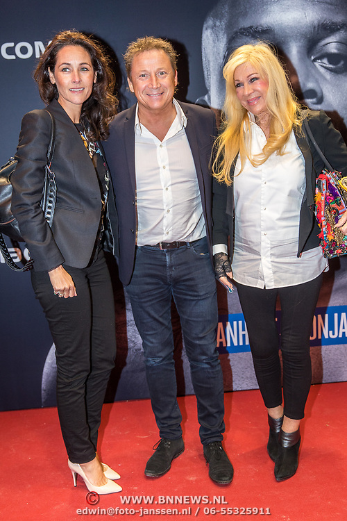 NLD/Almere/20171029 - Finale Spiike presents: WFL - Final 16, Armando Borsato en partner en moeder Mary Borsato