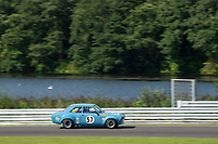 #57 Joe GOMM Ford Escort Mk1 BDA during HSCC Dunlop Saloon Car Cup  as part of the HSCC Oulton Park Gold Cup  at Oulton Park, Little Budworth, Cheshire, United Kingdom. August 24 2019. World Copyright Peter Taylor/PSP. Copy of publication required for printed pictures.
