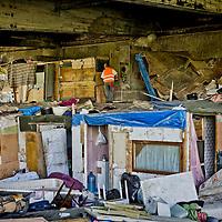 Sgomberato e demolito  campo rom
