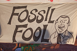 A clear message to WA Premier Colin Barnett as thousands turned out for the anti-gas rally held in Broome on Saturday 16th Ocober 2010.  The rally sends a clear message to Premier Colin Barnett that there is massive opposition to the gas processing hub at James Price Point.