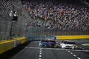 May 20, 2017: NASCAR Monster Energy All Star Race. 48 Jimmie Johnson, Lowe's Chevrolet, 2 Brad Keselowski, Miller Lite Ford