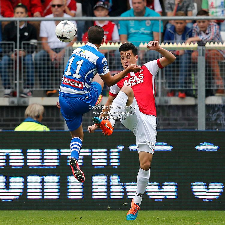 ALKMAAR - 21-09-2014 - AZ - PEC Zwolle, AFAS Stadion,